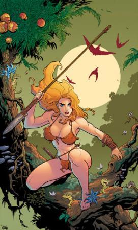 Shanna The She-Devil No.1 Cover: Shanna The She-Devil by Frank Cho