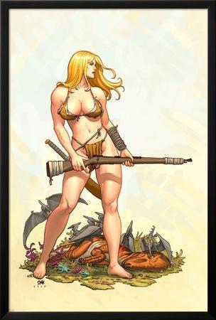 Shanna, The She-Devil No.4 Cover: Shanna The She-Devil by Frank Cho
