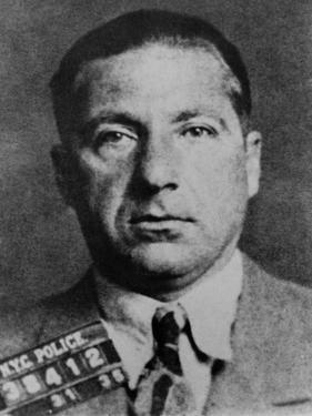 Frank Costello (1891-1973) in 1935 Mug Shot