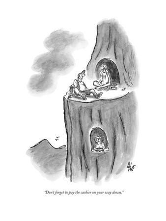 New Yorker Cartoon by Frank Cotham