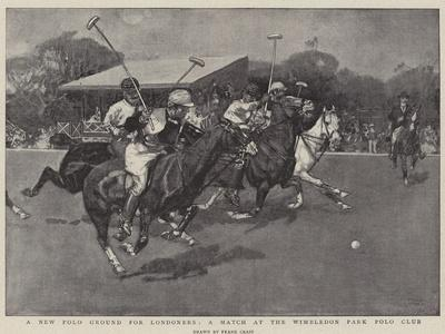A New Polo Ground for Londoners, a Match at the Wimbledon Park Polo Club
