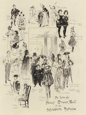 The Juvenile Fancy Dress Ball at the Mansion House by Frank Craig