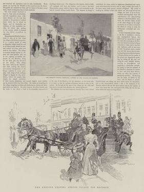 The Khedive Leaving Abdeen Palace for Koubbeh by Frank Craig
