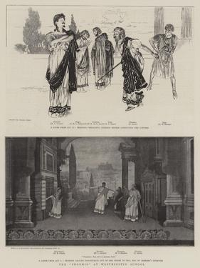 The Phormio at Westminster School by Frank Craig