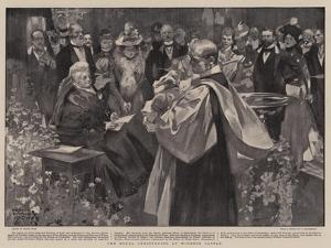 The Royal Christening at Windsor Castle by Frank Craig
