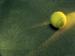 Tennis Still-Life by Frank Cruz