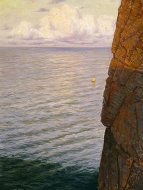 Santa Catalina Cliffs by Frank Cuprien