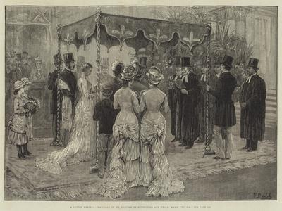 A Jewish Wedding, Marriage of Mr Leopold De Rothschild and Mademoiselle Marie Perugia
