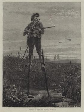 A Sportsman of the Landes (France) by Frank Dadd
