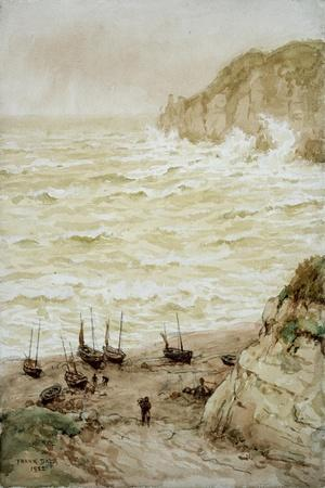 Beer Cove in a Storm, 1922