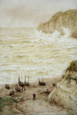 Beer Cove in a Storm, 1922 by Frank Dadd