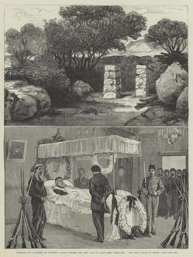 Funeral of Garibaldi at Caprera by Frank Dadd