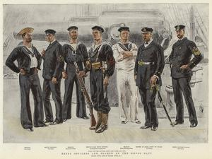 Petty Officers and Seamen of the Royal Navy by Frank Dadd