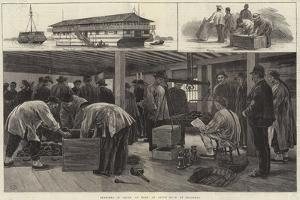 Sketches in China, on Board an Opium Hulk at Shanghai by Frank Dadd