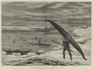 The American Franklin Search Expedition, Reindeer-Hunting in Kayaks by Frank Dadd