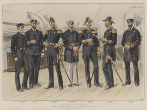 The Officers of the Royal Navy by Frank Dadd