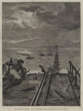 The Tay Bridge Disaster, View of the Broken Bridge from the North End by Frank Dadd
