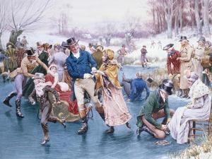 Winter Fun by Frank Dadd