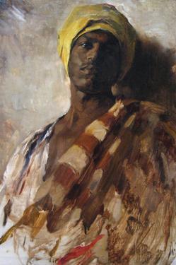 Guard of a Harem by Frank Duveneck