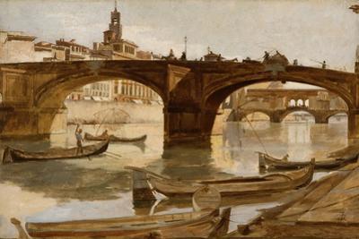 The Bridges: Florence, C.1880 by Frank Duveneck