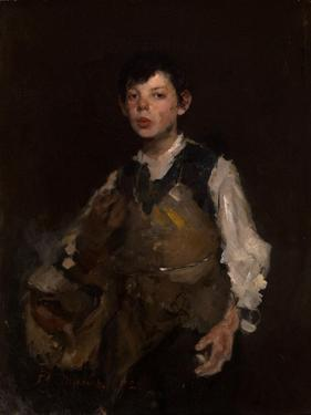 The Whistling Boy, 1902 by Frank Duveneck
