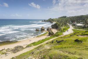 Bathsheba Beach, Bathsheba, St. Joseph, Barbados, West Indies, Caribbean, Central America by Frank Fell