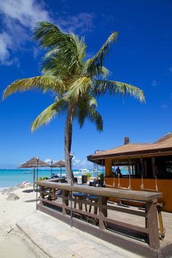 Beach and Beach Bar by Frank Fell