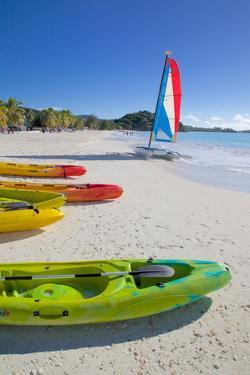 Beach, Jolly Harbour, St. Mary, Antigua, Leeward Islands, West Indies, Caribbean, Central America by Frank Fell