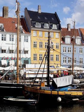 Nyhavn, Copenhagen, Denmark, Scandinavia, Europe by Frank Fell