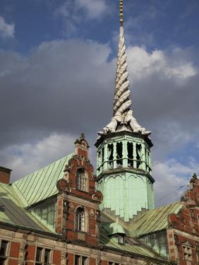 Old Stock Exchange, Copenhagen, Denmark, Scandinavia, Europe by Frank Fell