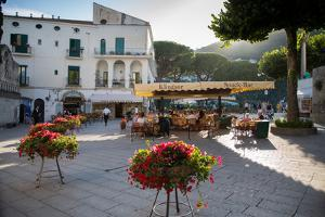 Piazza Centrale, Ravello, Campania, Italy, Europe by Frank Fell