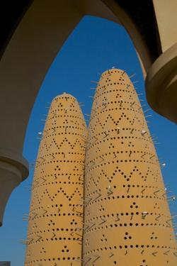 Pigeon Towers, Katara Cultural Village, Doha, Qatar, Middle East by Frank Fell