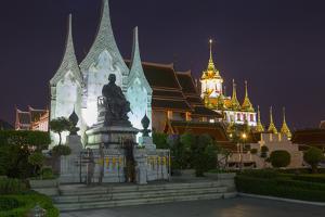 Ratcha Natdaram Worawihan, Bangkok, Thailand, Southeast Asia, Asia by Frank Fell