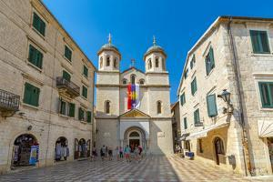 St. Nicholas Serbian Orthodox Church, Old Town, Kotor, Montenegro by Frank Fell