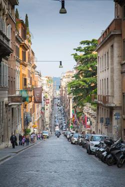 Via Sistina, Rome, Lazio, Latium, Italy, Europe by Frank Fell
