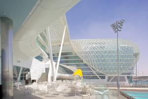 Viceroy Hotel, Yas Island, Abu Dhabi, United Arab Emirates, Middle East by Frank Fell
