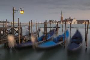 View to San Giorgio Maggiore, Venice, UNESCO World Heritage Site, Veneto, Italy, Europe by Frank Fell