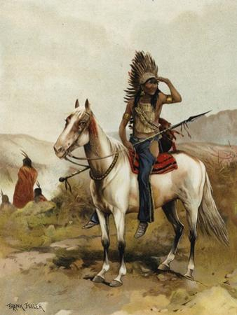 A Sioux Indian Chief