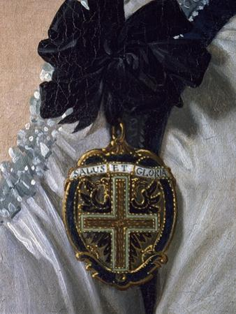 Coat of Arms, Detail from the Portrait of Maria Luisa of Bourbon