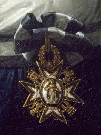 Cross of Honor, Detail from Portrait of Maria Luisa of Bourbon