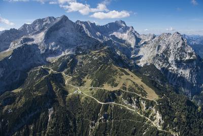 Alpspitze, Germany, Garmisch-Partenkirchen, Bavarian Oberland Region, Osterfelder Region