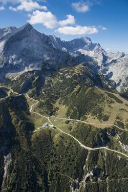 Alpspitze, Germany, Garmisch Partenkirchen, Oberland, Osterfelder Region Wettersteingebirge by Frank Fleischmann