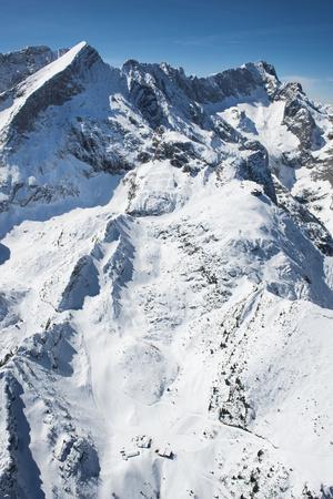Alpspitze, Zugspitze, H?llental, Hochalm, Summit of the Alpspitze