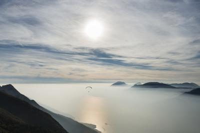 Paraglider, Aviation, Paragliding, Lake Garda, Monte Baldo