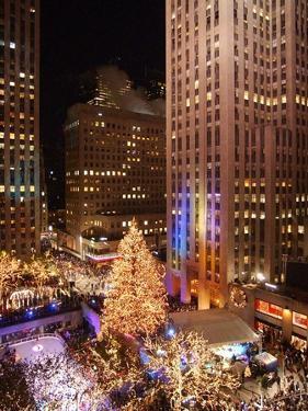 Rockefeller Tree Lighting by Frank Franklin II