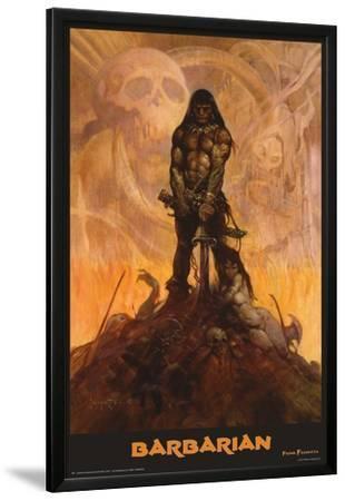 Barbarian by Frank Frazetta
