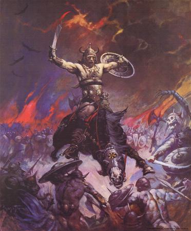 Berserker (cover art for Conan the Conqueror)