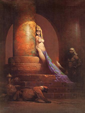 Egyptian Princess (cover art for Eerie #23 and Creepy #92)
