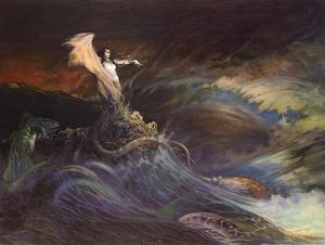 Sea Witch by Frank Frazetta