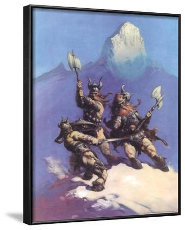Snow Giants (cover art for Conan of Cimmeria)